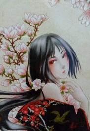 Girl in sakura