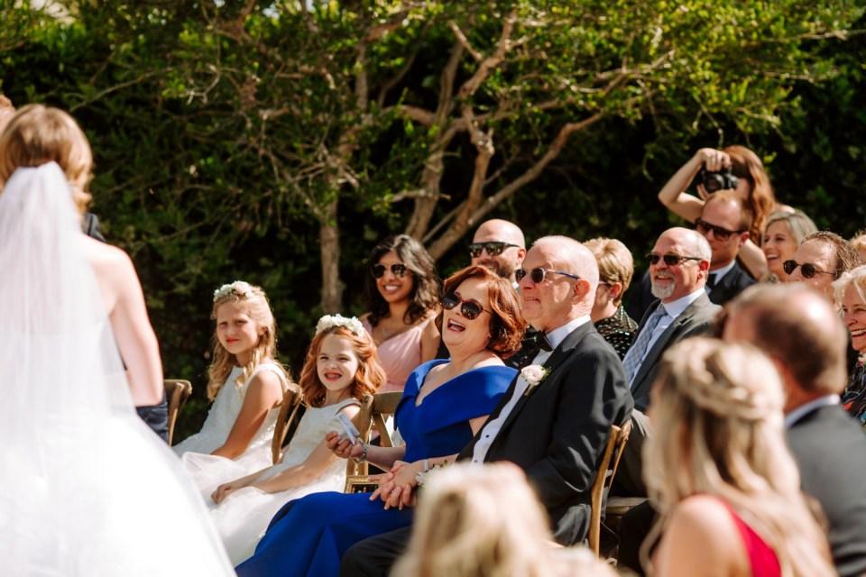 European style California wedding venue ceremony