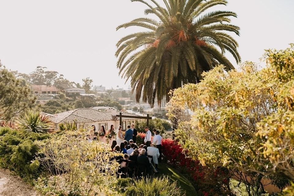 micro wedding in la jolla california