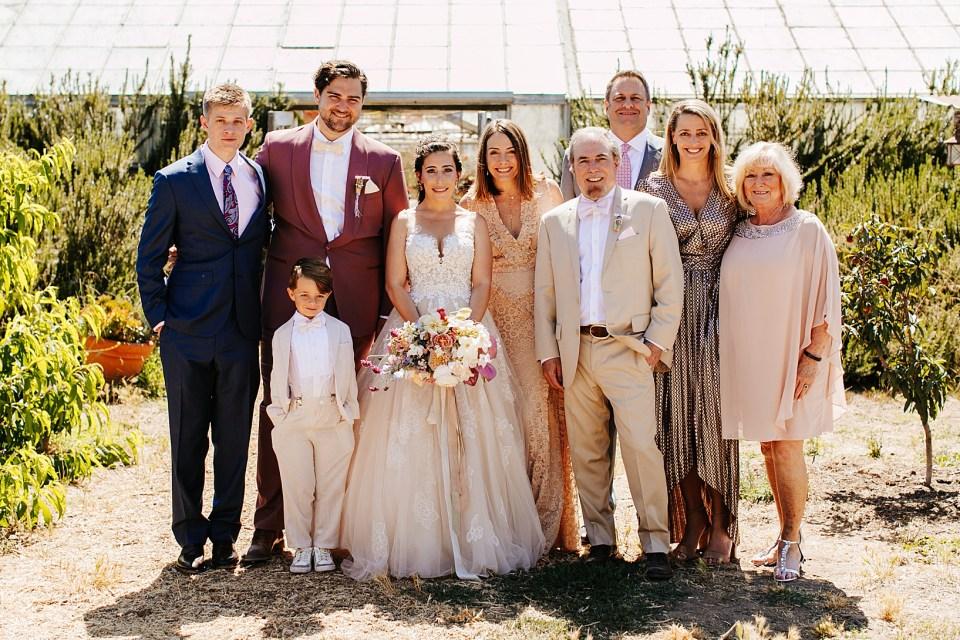 Family Photos for Goleta Wedding at Dos Pueblos Orchid Farm