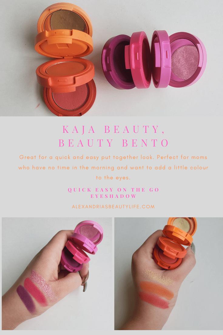 Kaja Beauty, Beauty Bento Eyeshadow Trio