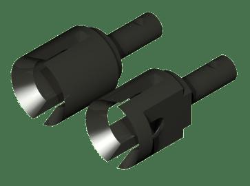Extra hard cups and wheel axle (instrumental steel)