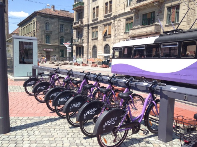 Velo TM - Timisoara Has The First Romanian Bike-Sharing System