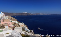 Looking south from Oia