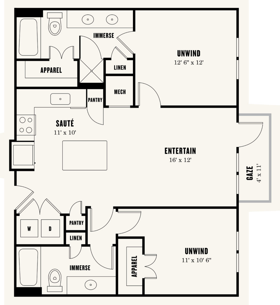 B1: Fantastic Two-Bedroom Apartments in Fort Worth