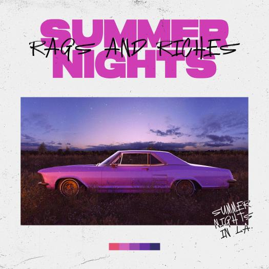 "The single art for ""Summer Nights"""