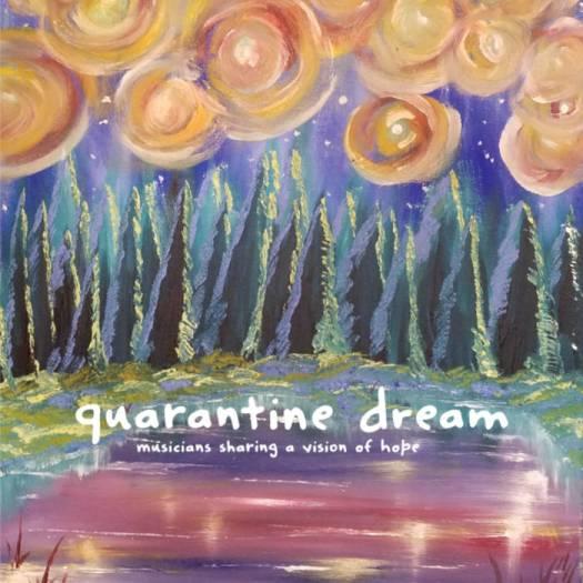 Quarantine Dream album cover by Tim Cheesebrow