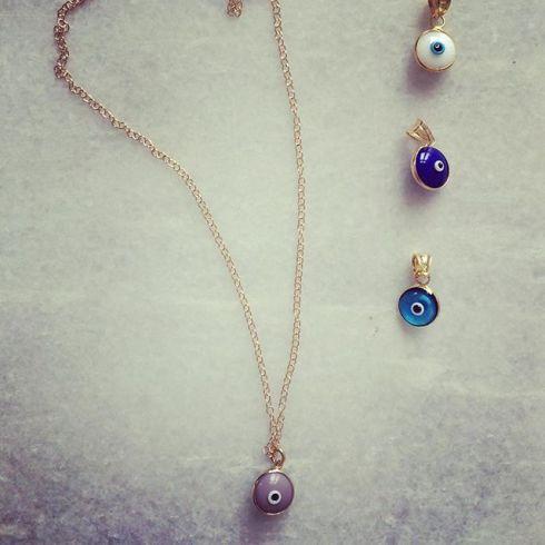 Taupe, White, Blue or Turquoise: which one is your ️? #vonhey #vonhey_berlin #evileye #evileyenecklace #matti #nazar