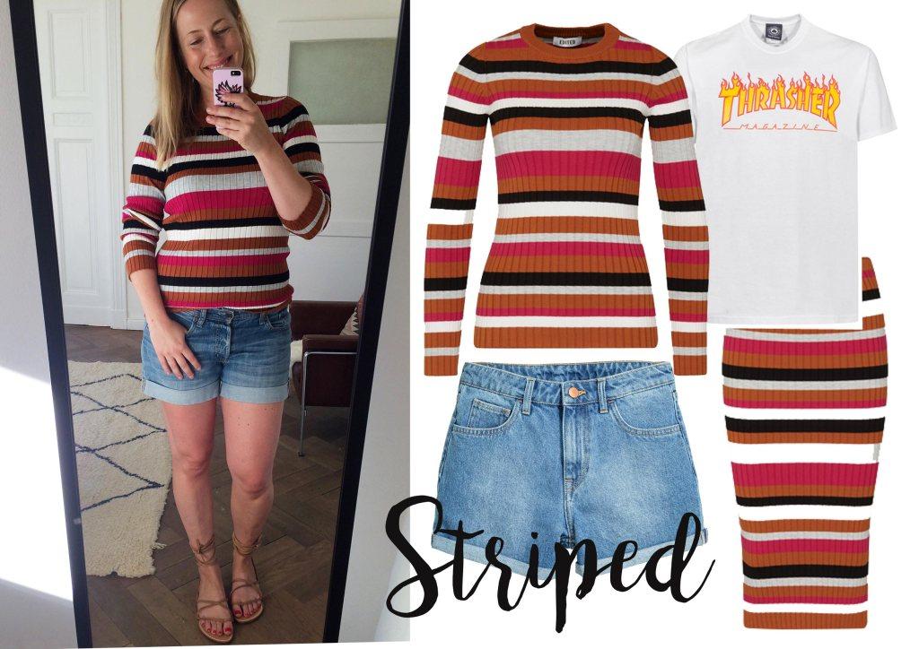 How to wear: Streifen