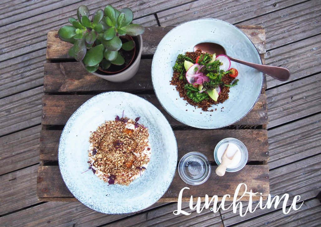 Aubergine vs. Quinoa: Lunch in der Factory Kitchen