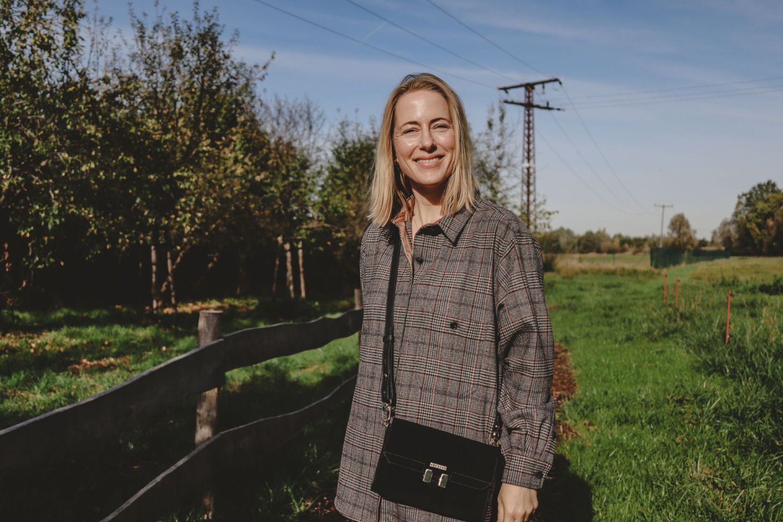 Meine Herbst-Uniform: Kariertes Overshirt & heldenhafte Wildleder-Tasche |#Anzeige