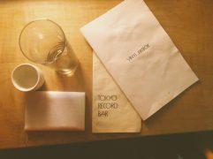 Drink menu + vinyl menu