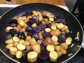 I love a good medley of baby potatoes.