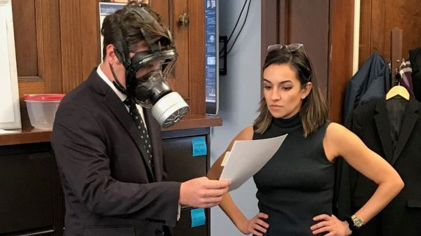 MG gas mask