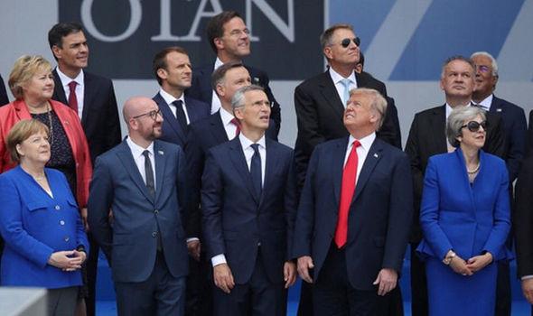 PR NATO leaders