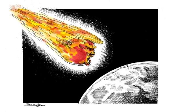 TA trump asteroid
