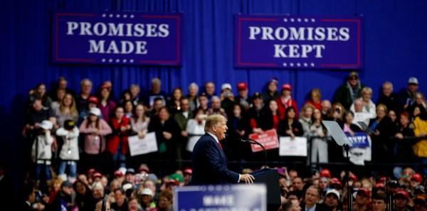 TM trump rally