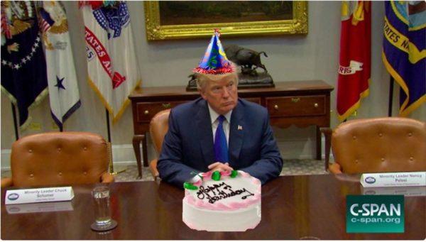 TSR19 cake