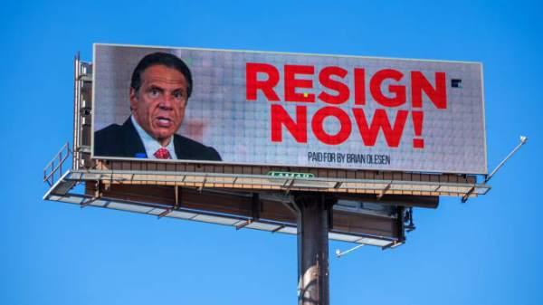 cuomo billboard