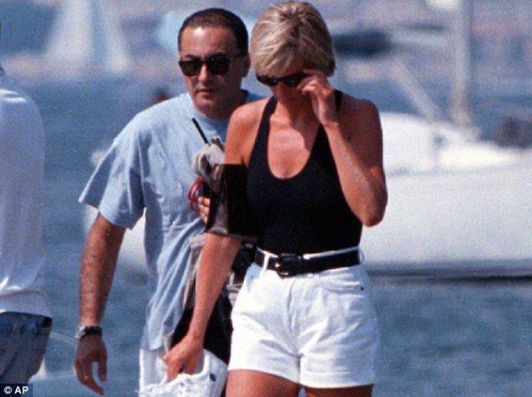 Diana with Dodi