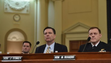 James Comey before the House Intelligence Committee