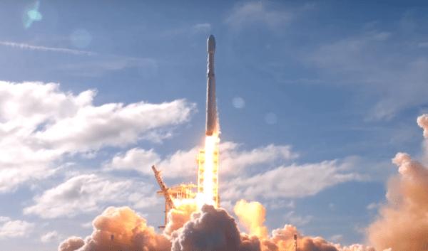musk falcon heavy launch