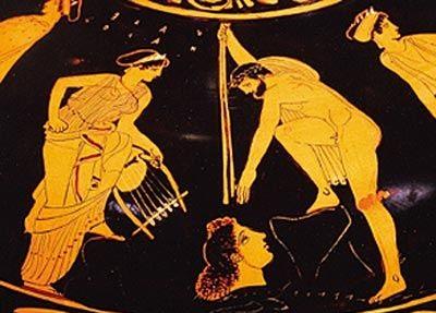 orpheus singing head