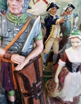 Assorted Royal Doulton Figurines