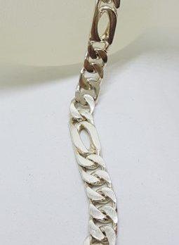 Sterling Silver Heavy Link Bracelet