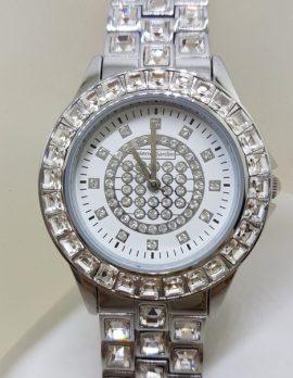 Pierre Cardin Watch - Stainless Steel and Swarovski Crystal