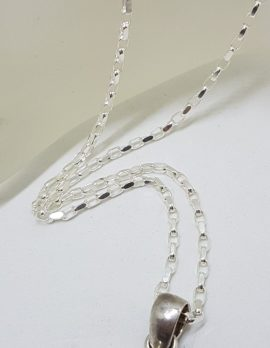 Sterling Silver Large Koroit Boulder Opal Pendant on Silver Chain