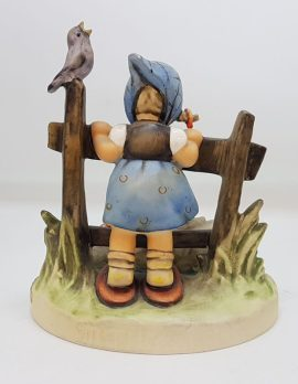 Vintage German Hummel Figurine - Feathered Friends