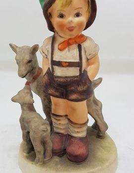 Vintage German Hummel Figurine - Little Goat Herder