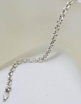 Sterling Silver Belcher Link Bracelet