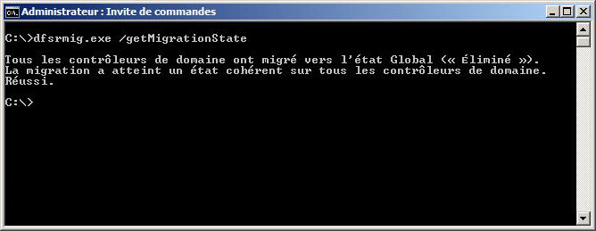 dfsrmig.exe /setGlobalState 3 fini