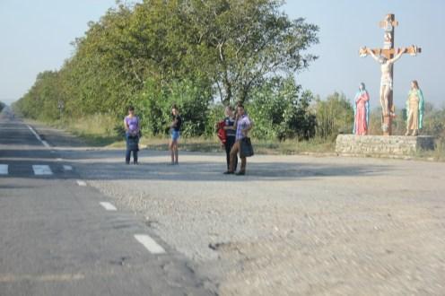 Trampen ist eine der beliebtesten Fahrtoptionen.