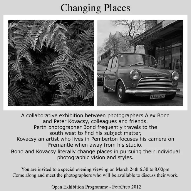 Changing Places Photography Exhibition