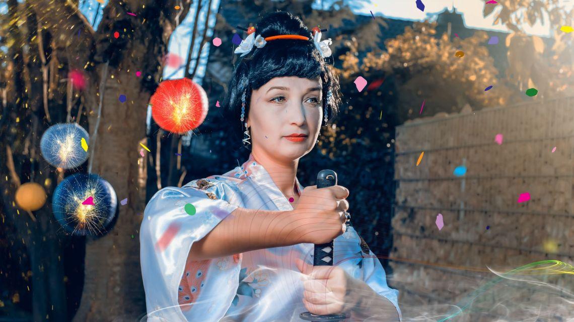 Fotoshooting Geisha