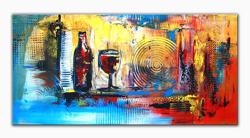 Abstrakte Kunst Malerei abstrakte Original Knstler