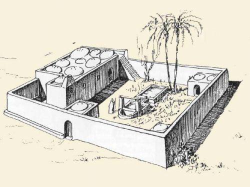 como eram as celas dos padres do deserto