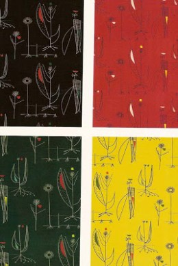 Herb Anthony 1956 designed by Lucienne Day in different colorways