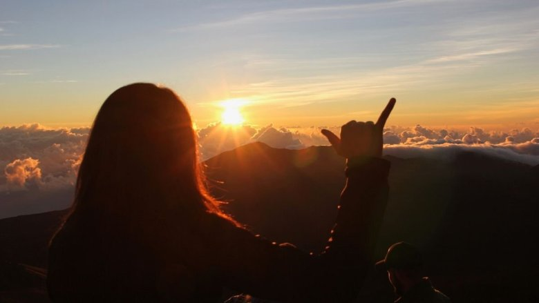 how do you see sunrise at haleakala national park