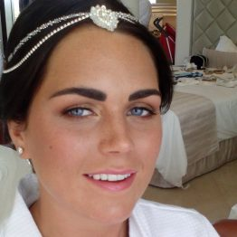 very natural bridal make up,moon palace,cancun,mexico