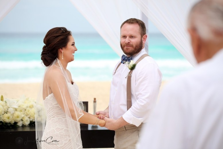 Brittany's ceremony,cancun