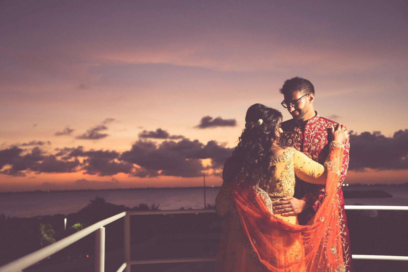 Photo session for Indian wedding in Hard Rock Cancun
