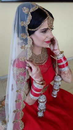 Gorgeous Sumal on her wedding day