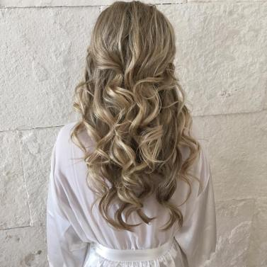 loose waves hairstyle, Blue diamond, Playa del carmen