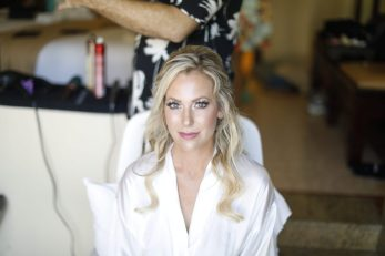 Jana make up photo on her getting ready,destination wedding,Playa del Carmen,Riviera Maya,Mexico