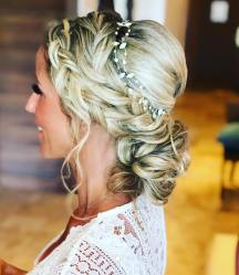 braided whimsical updo at secrets maroma