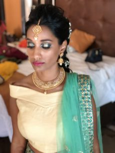 colorful look for indianbride at generations riviera maya
